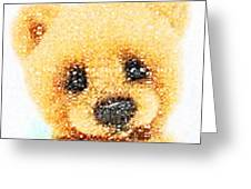 Huggable Teddy Bear Greeting Card