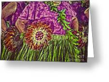 Hula 22 Greeting Card