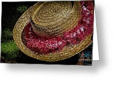 Hula Hats 5 Greeting Card