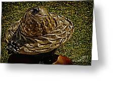 Hula Hats 6 Greeting Card