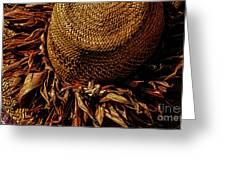 Hula Hats 7 Greeting Card