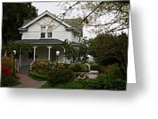 Hulda Klager House Greeting Card