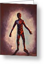 Humanoid Greeting Card by Dayna Reed