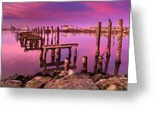 Humboldt Twilight Glow Greeting Card
