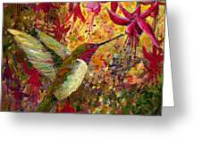 Hummer Dazzle Greeting Card