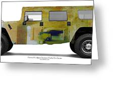 Hummer H1 Alpha Fort Sumter Interior Greeting Card
