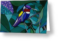 Hummingbird Hamlet Greeting Card