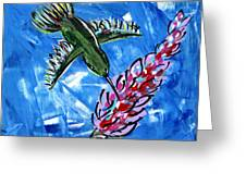 Hummingbird II Greeting Card