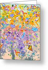 Hummingbird Spring Greeting Card