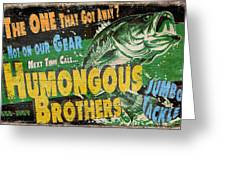 Humongous Brothers Greeting Card