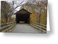 Humpback Bridge Opening Greeting Card