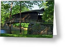 Humpback Covered Bridge 2 Greeting Card