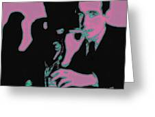 Humphrey Bogart And The Maltese Falcon 20130323m138 Square Greeting Card