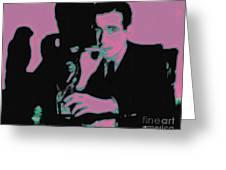 Humphrey Bogart And The Maltese Falcon 20130323m138 Greeting Card