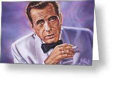 Humphrey Bogart Greeting Card
