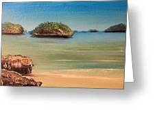 Hundred Islands In Philippines Greeting Card