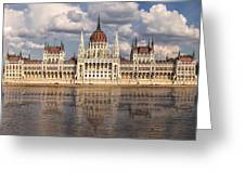 Hungarian Parliament Budapest Greeting Card