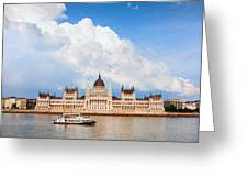 Hungarian Parliament Building Greeting Card