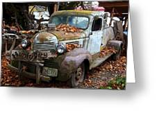 Hunky Dory Truck Greeting Card
