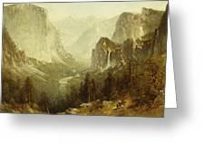 Hunting In Yosemite Greeting Card