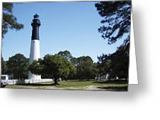 Hunting Island Lighthouse Sc Greeting Card