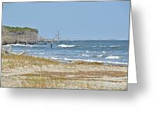 Hunting Island State Park Greeting Card
