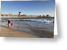 Huntington Beach  Greeting Card