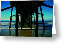 Huntington Beach Pier Greeting Card