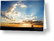 Hallelujah  Sunset Greeting Card
