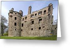 Huntly Castle - 3 Greeting Card