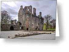 Huntly Castle - 5 Greeting Card