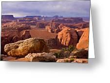 Hunts Mesa Arizona Greeting Card