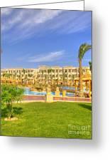 Hurghada Hotel 02 Greeting Card