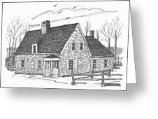 Hurley Stone House Greeting Card