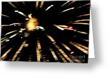 Huron Ohio Fireworks 10 Greeting Card by Jackie Bodnar