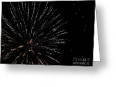 Huron Ohio Fireworks 14 Greeting Card