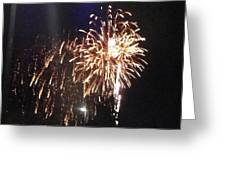 Huron Ohio Fireworks 2 Greeting Card by Jackie Bodnar
