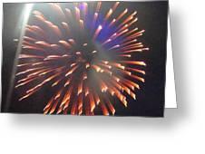 Huron Ohio Fireworks 5 Greeting Card by Jackie Bodnar