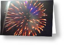 Huron Ohio Fireworks 5 Greeting Card