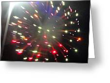 Huron Ohio Fireworks1 Greeting Card by Jackie Bodnar