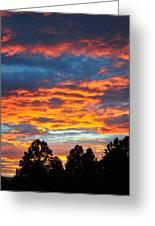 Hurricane Mountain Sunset 2 Greeting Card