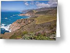 Hurricane Point Vista Greeting Card