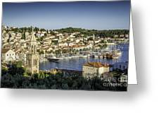 Hvar Overlook Greeting Card