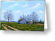 Hwy 302 Farm Greeting Card