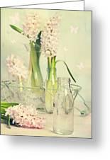 Hyacinth Arrangement Greeting Card