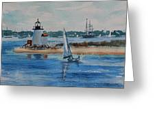 Hyannis Harbor Greeting Card