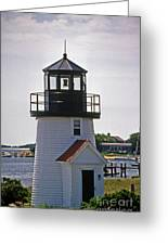 Hyannis Harbor Replica Greeting Card