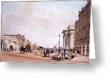 Hyde Park Corner, Looking Greeting Card