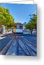 Hyde Street Trolley Greeting Card