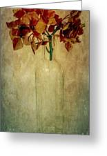 Hydrangea Greeting Card by Elena Nosyreva